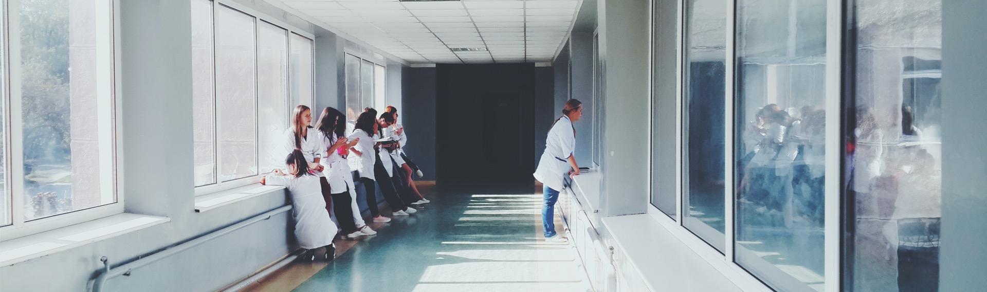Døgnrytmelys på hospital